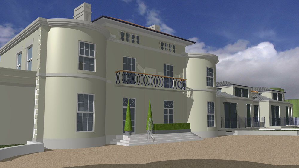 Metropolis architecture ryton house for Build a house for 150k